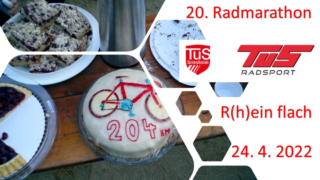 Radmararthon 24.4.2022